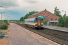 153311 arriving at Sleaford, 26 July 1993,