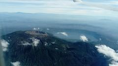 Santa Ana Volcano seen from the air