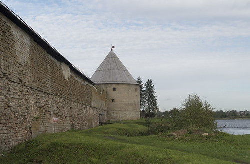 Wall and King's Tower of Oreshek Fortress, 14.09.2018.