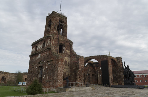 Ruins of Cathedral of the Nativity of St. John the Baptist at Oreshek Fortress, 14.09.2018.