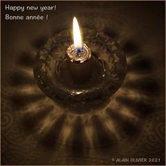 Happy new year! Bonne année !