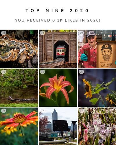 Top 9 Instagrams of 2020
