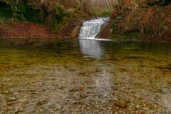 """Wasserfall """"Großes Gieß"""" bei Frickenhausen-Linsenhofen"""