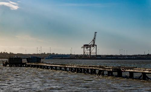 Shotley pier