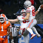 Ohio State celebrates (Jonathan Bachman for the Allstate Sugar Bowl)