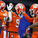 Clemson celebrates (Jonathan Bachman for the Allstate Sugar Bowl)