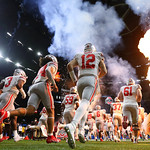 Ohio State onto field (Jonathan Bachman for the Allstate Sugar Bowl)