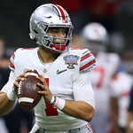 Justin Fields (Jonathan Bachman for the Allstate Sugar Bowl)