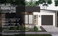 Lot 108, Rickard Road, Leppington NSW
