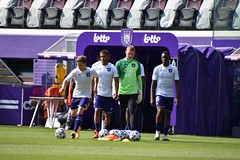 Season 2020-2021: warming up RSC Anderlecht
