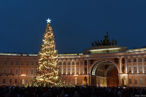 New Year in St. Petersburg