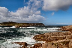 Photo of Owey Island from Cruit Island, County Donegal