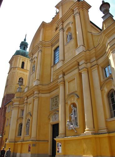 St. Martin's Church, Old Town, Warsaw, Poland