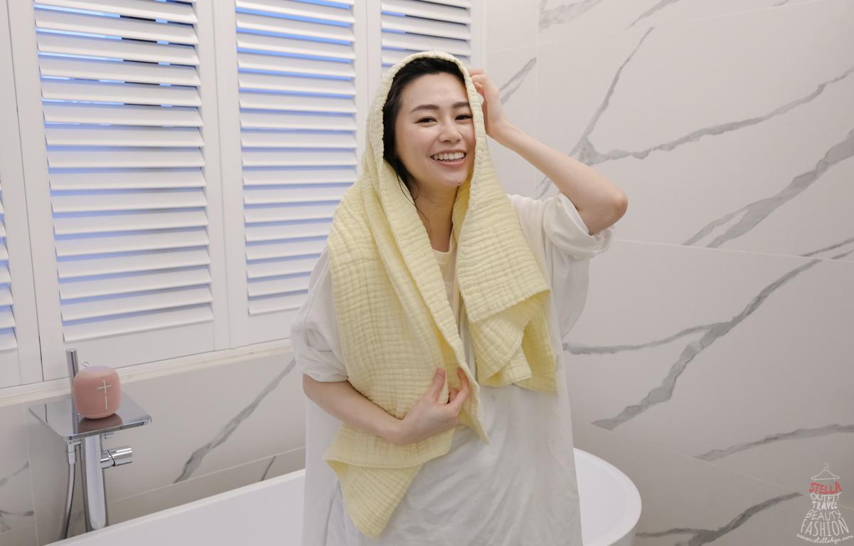美國L'ange棉之境 純棉紗布巾 浴巾