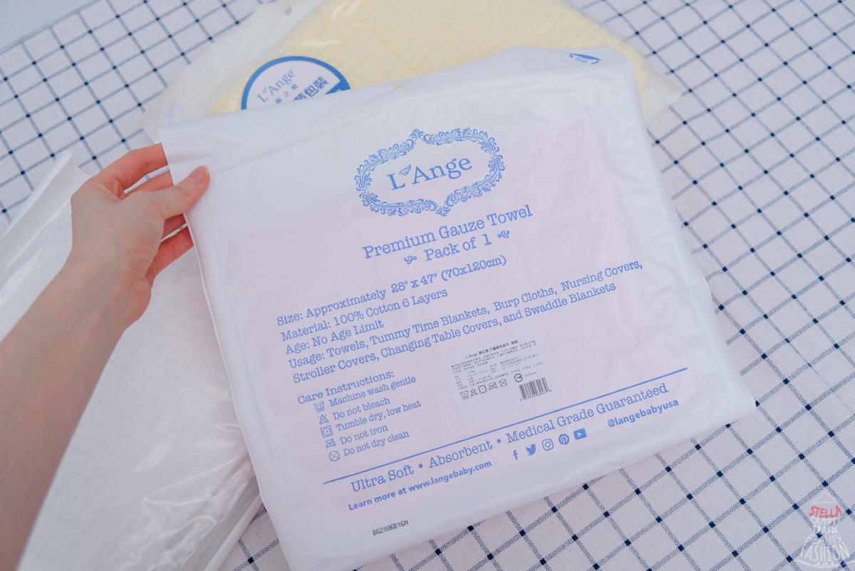 美國L'ange棉之境紗布巾 知名婦產科愛用
