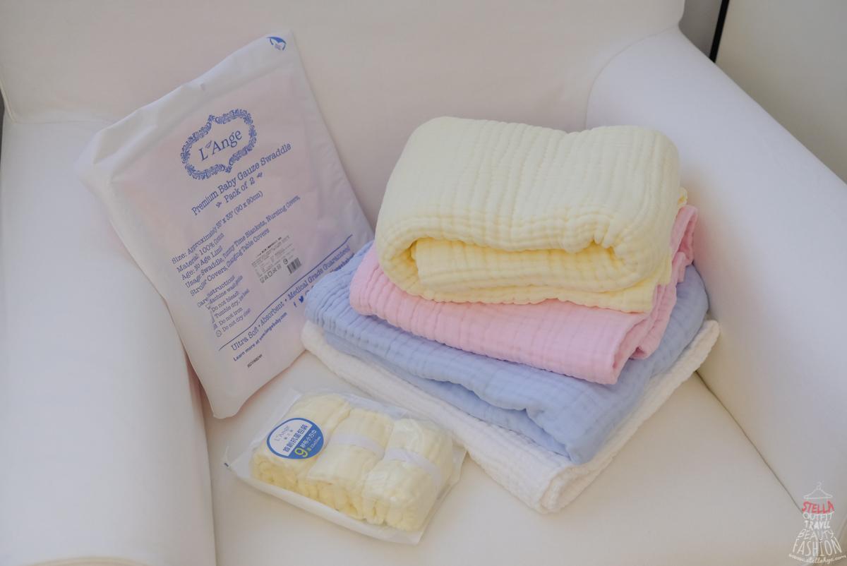 美國L'ange棉之境 純棉紗布巾