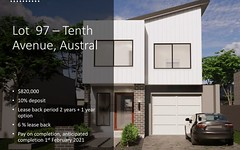 Lot 97, Tenth Avenue, Austral NSW