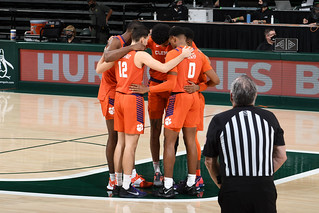 MBB: Clemson 66, Miami 65 Photos