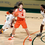2021 Clemson @ Miami Men's Basketball