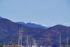 遠山雪景色