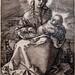 Albrecht Dürer, Virgin with the Swaddled Child, 1520, Engraving, 12/24/20 #fristartmuseum