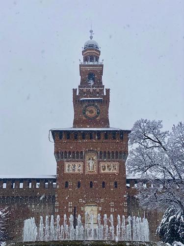Milano Neve 2020
