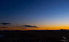 January 1, 2020 - The first sunset of 2021. (Jessica Fey)