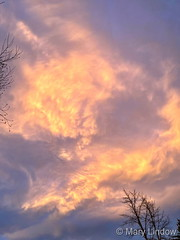 January 3, 2021 - A beautiful end to the day. (Mary Lindow)