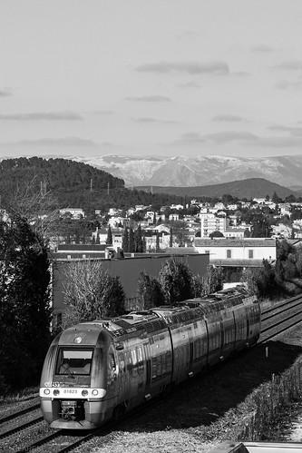 Train, Alès, Cevennes, Mont Lozère