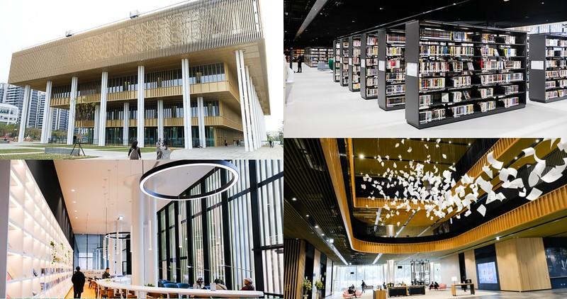 【台南景點】台南市立圖書館 新總館 1/2開幕!美到讓人拍不停!還有兒童專屬區!