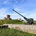 Dover Castle Gun Antiaircraft Gun Edit 2021