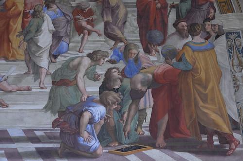 Musei Vaticani - Stanze di Raffaello - Euclide