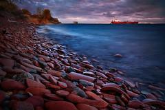 Red Cobble Beach