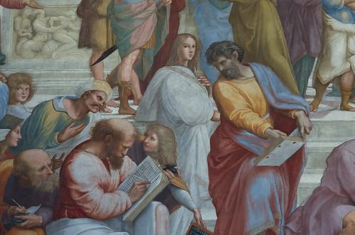 Musei Vaticani - Stanze di Raffaello - Pitagora