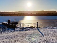 Photo of Winter on Loch Leven, Kinross