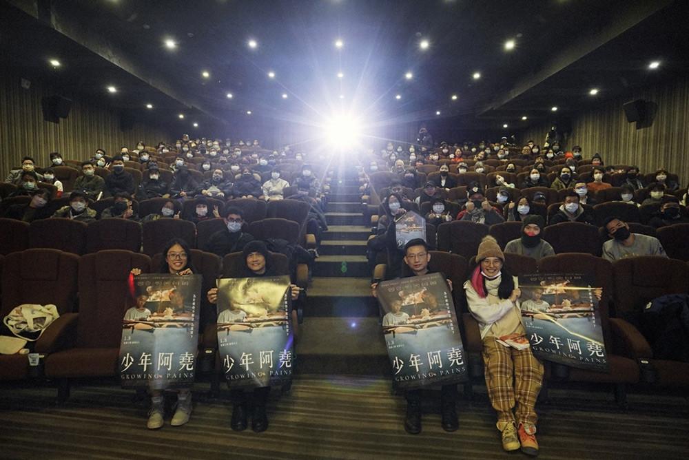 導演王柏瑜-金馬影帝陳以文-與現場觀眾合影
