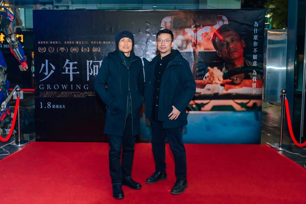 導演王柏瑜-金馬影帝陳以文-出席《少年阿堯》首映會