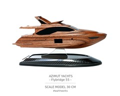 Scale model: Azimut Yachts