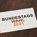 Bundestags wahl 2021 banner