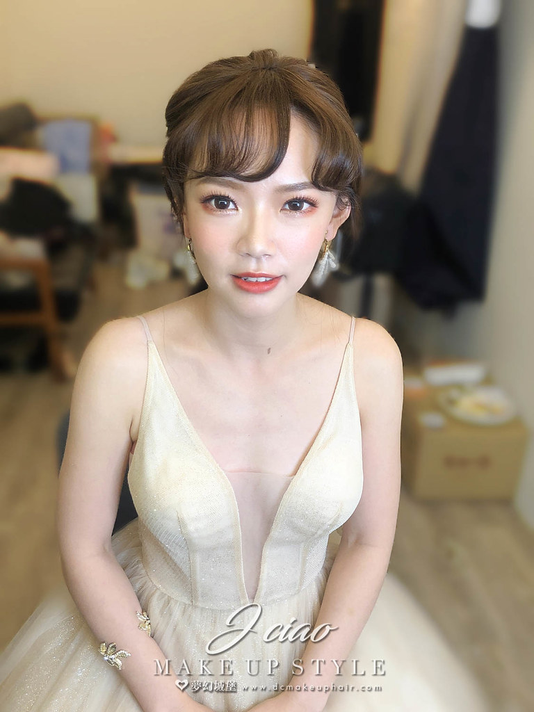 【新秘婕喬】bride淑惠 結婚造型 / 戶外婚禮造型