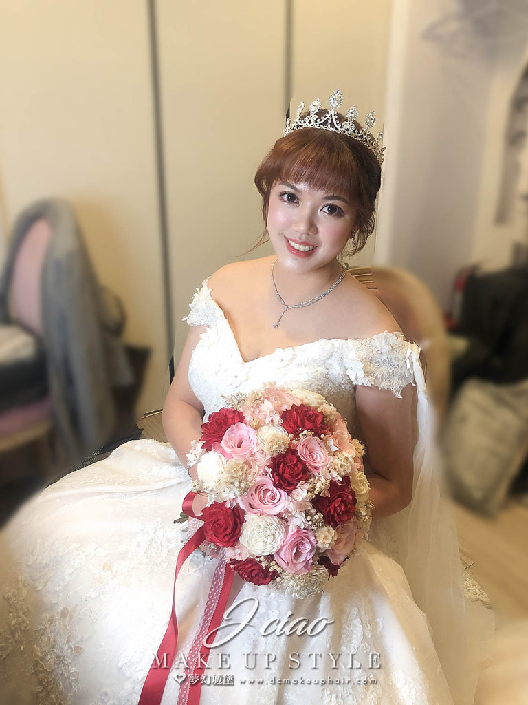 【新秘婕喬】bride意淇 結婚造型 / 韓系,甜美,浪漫