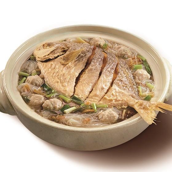 老新台菜鯧魚炊粉鍋