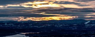 Last sunset in 2020