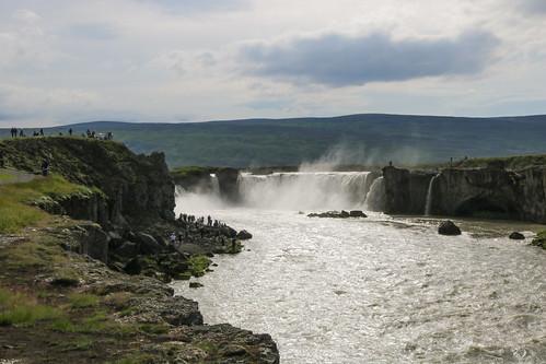 Goðafoss waterfall