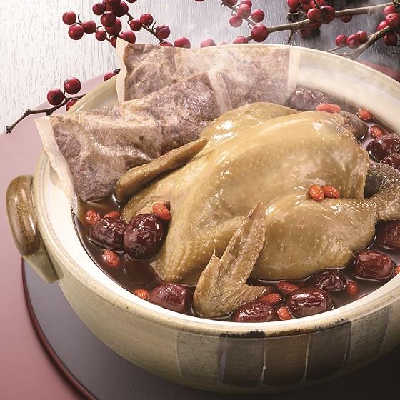 雙月食品社靈芝首烏土雞湯