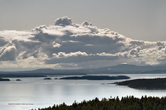 View from Mount Norman on South Pender Island in British Columbia, Canada  -  (Published by GETTY IMAGES)