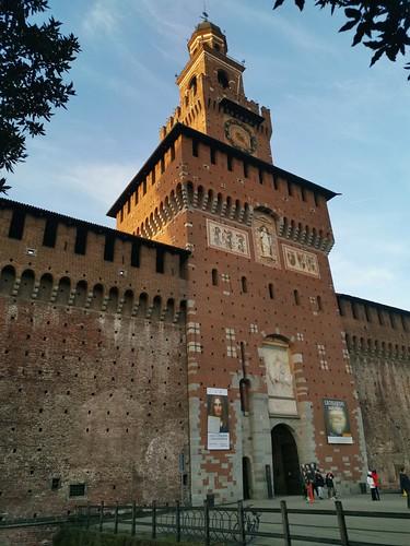 Torre del Filarete, Castello Sforzesco / Forza Castle