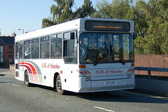 Photo of GHA Coaches Dennis Dart SB24 J52EDM - Wrexham