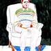 Maria Zaikina, Man in armchair