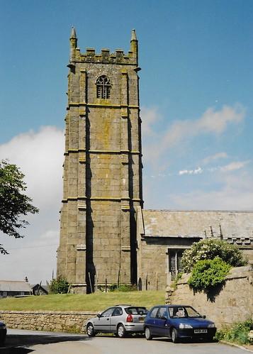 St Buryan: Church of St Buriana (Cornwall)
